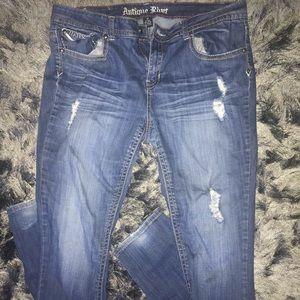 Antique Rivet Jeans